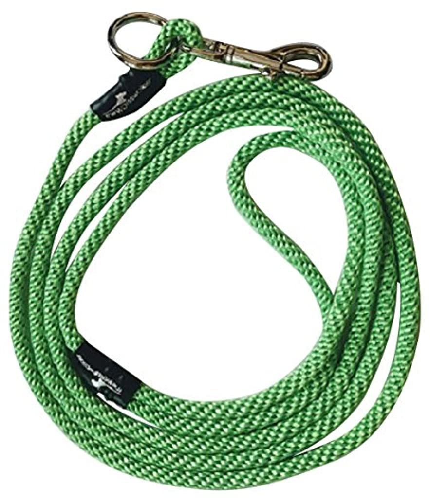 Weiss Walkie No Pull Dog Leash, Small, Neon Green