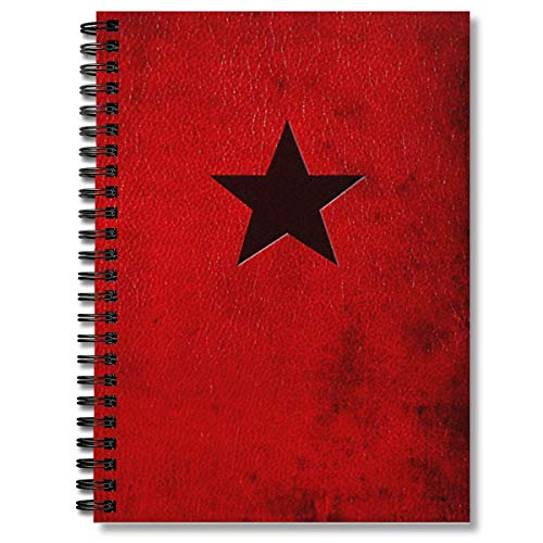 Spiral Notebook Soviet Manual Composition Notebooks Journal With Premium Thick Paper