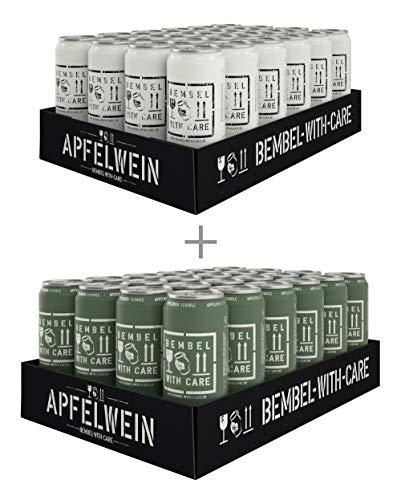 BEMBEL WITH CARE Apfelwein-Cola (24 x 500 ml) + Apfelwein-Schorle (24 x 500 ml)