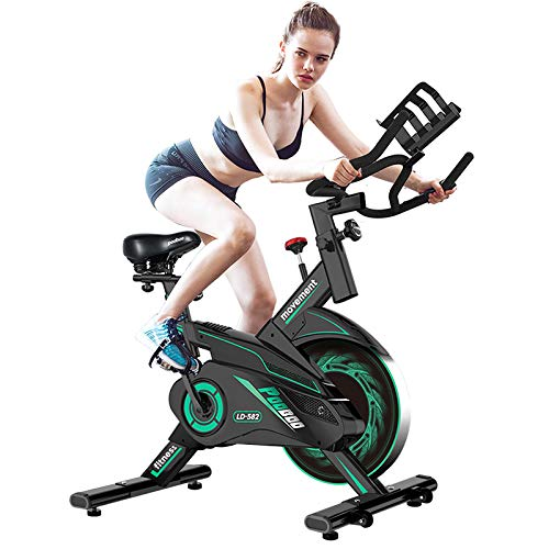 L NOW Exercise Bike Indoor Cycling Bike Belt Drive Smooth Magnetic Resistance Stationary...
