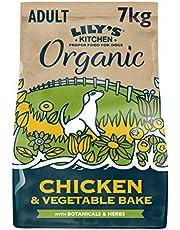 Lily's Kitchen Pastel de Pollo ecológico al Horno - Alimento Completo seco para Perros Adultos, 7 Kg