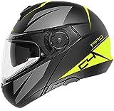 SCHUBERTH 4549244360 - Casco de moto amarillo, 55 (S) 1 pieza