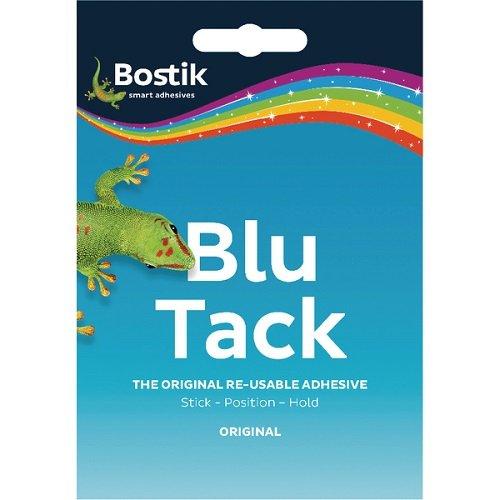 Bostik Blu-Tack 801103 Klebemasse, ungiftig, 12 Stück