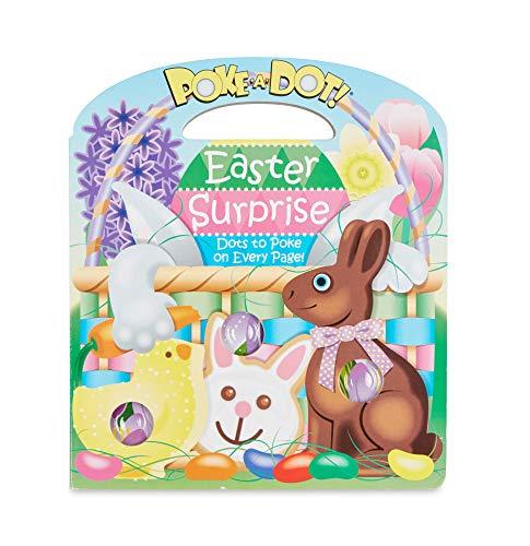 Melissa & Doug Children's Book – Poke-a-Dot: Easter Surprise