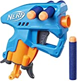 Nerf Nanofire Blue Blaster and Combats