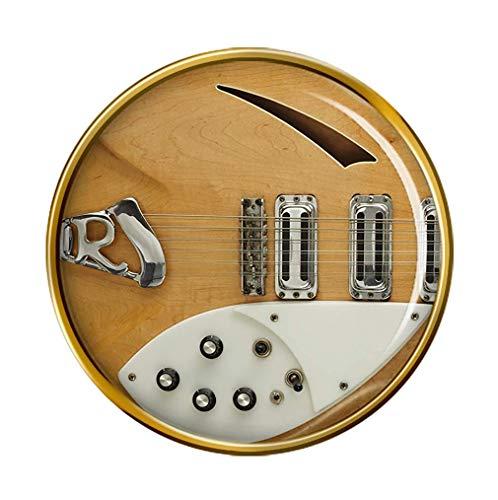 Giftshop UK Rickenbacker Gitarre Pin Abzeichen