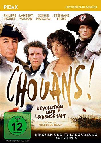 Chouans! - Revolution und Leidenschaft (Kinofilm + 4-teilige TV-Langfassung) / Preisgekröntes Historienabenteuer mit Starbesetz