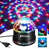 LED Discokugel, SOLMORE 51LEDs 12W 7 Farben Discolampe Partyleuchte RGB Lichteffekt...