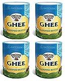 Organic Valley Ghee Clarified Butter - 4 Jars 13oz/368gm - سمن الوادي العضوي