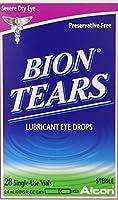 Bion Tears Lubricant Eye Drops-0.015 oz, 28 ct Single Use Vials, 2 pk by Bion Tears