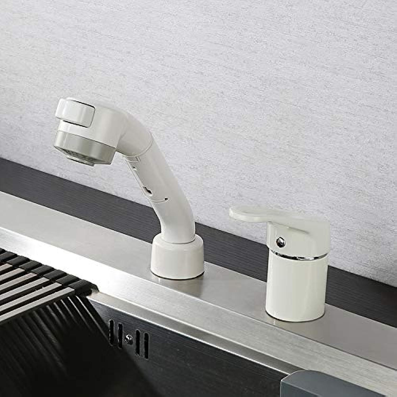 Wasserhahn 360 ° Drehbar Edelstahl Wasserhahn Heies Und Kaltes Wasser Faucet_Factory Grohandel Direkten Weien Ausziehhahn