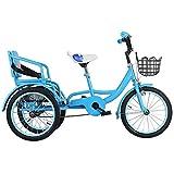 YZ-YUAN Triciclo para niños para Deportes al Aire Libre con Freno Sensible para...