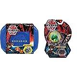 Bakugan 6045138 - Storage Case, Aufbewahrungskoffer mit extra Bakugan Basic Ball, unterschiedliche Varianten & 6045148 - Basic Ball 1er Pack, unterschiedliche Varianten
