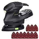 Best Hand Sanders - GALAX PRO Electric Orbital Sander,12000 OPM Mouse Detail Review