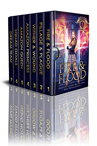 The Complete Mythverse Box Set, Books 1-7 Plus Two Novellas: A Supernatural Academy Series (English Edition)