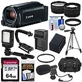 Canon Vixia HF R800 1080p HD Video Camera Camcorder (Black) with 64GB...
