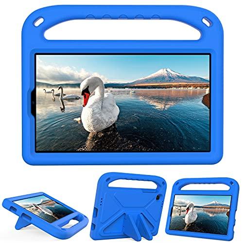 SZCINSEN Funda para Samsung Galaxy Tab A7 Lite de 8.7 pulgadas (2021) SM-T220/SM-T225, peso ligero, resistente a los golpes, funda protectora para niños, color azul