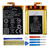 Duotipa Battery C11N1502 Compatible with Asus Zenwatch 2 WI501Q with Repair Tool Kit