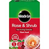 Miracle-Gro Rose and Shrub Fast Acting Granules Plant Food 3 kg, Red