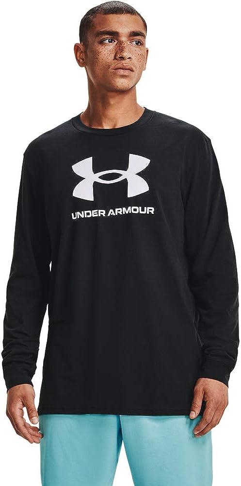 Under 格安SALEスタート Armour Men's Sportstyle Logo ☆新作入荷☆新品 Long-Sleeve T-Shirt
