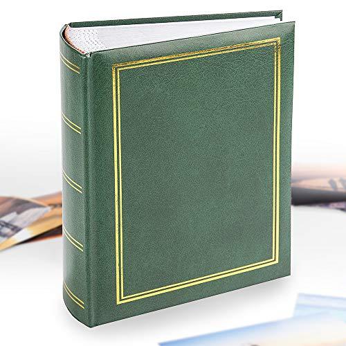 Klassisches Fotoalbum, 15,2 x 10,2 cm, einfaches Einstecken, Einstecken und Buchgebunden, für 100 / 200 / 300 Bilder in einem traditionellen und zeitlosen Design-Fotoalbum | Perfekte Geschenkidee