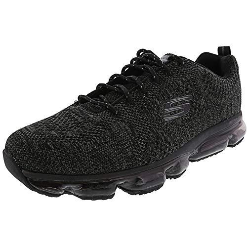 Skechers Herren Skech Air Atlas 52973 Schwarz BBK Sneaker, Größe:41, Farbe:schwarz
