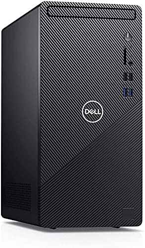 Newest Dell Inspiron 3880 Business Desktop Computer 10th Gen Intel Hexa-Core i5-10400 up to 4.3GHz 16GB DDR4 RAM 512GB PCIe SSD + 1TB HDD WiFi VGA HDMI for Business and Students No DVD Windows 10 Pro