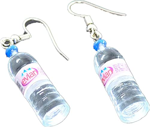 Ownsig Women Bohemian Water Bottle Pendant Earrings Drop Dangle Earrings Creative Unique