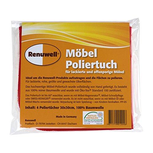 Renuwell Möbel-Poliertuch (4-Pack)