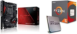 Pack Placa Base ASUS y Procesador AMD:ROG Crosshair VII Hero y AMD Ryzen 5 2600X