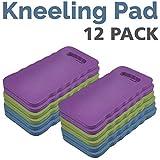 BLOOM 9580BL Wholesale Lot Kneeling Pad 12-Pack, Assorted Colors
