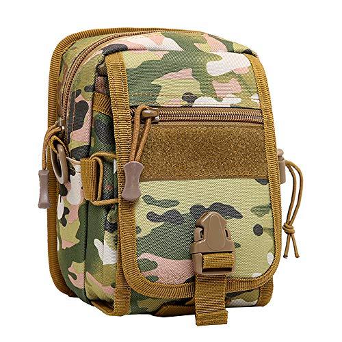 Outdoor hiking backpack Sac Messenger pour Hommes, Sac de Poche Mini Sac à Dos Tactique d'équitation en Plein air Sac à bandoulière Tactique, adapté pour Le Camping en Plein air la randonnée la pêche