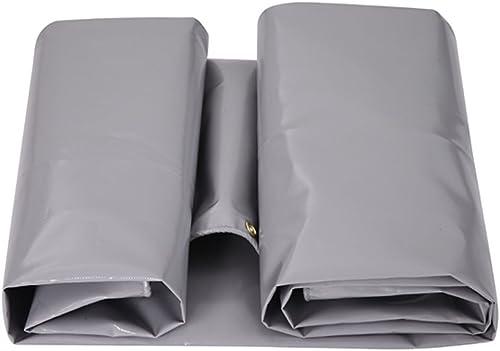 GLJ Tissu étanche à La Pluie Ignifuge épaisse Couteau en Argent Grattage Tissu Oxford Tissu Parasol Trois Anti-Tissu Toile De Tente bache (Couleur   argent gris, Taille   3x6m)