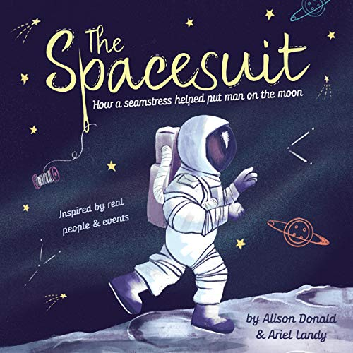 The Spacesuit audiobook cover art