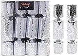 TOYLAND Paquete de 8-13cm Mini Navidad de Navidad Crackers