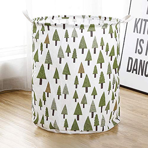 Kcakek Huishouden Wasmand Folding Stof Storage Basket Toy Storage Basket Wasmand Storage Bag Linnen & Katoen Stof Suit for Desktop Storage en Huishoudelijke Organizer (Size : Style 3)