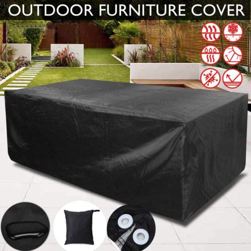 All-Purpose Covers - Patio Garden Outdoor Furniture Rain Cover Waterproof Wicker Sofa Set Protection - Skate Cover Sofa Protective Adult Covers Purpose Covers Cover Garden Table Patio Furnitur