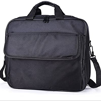 OOLLWW Video Projector Carrying Case Bags Scratch-Resistant Interior , Shoulder Strap for Epson, Acer, Benq, LG,¡