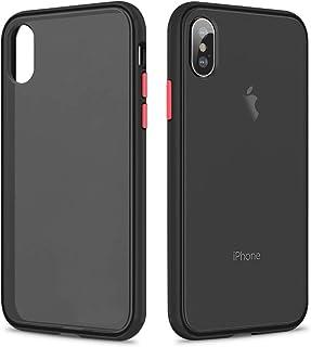 Amazon.it: cover iphone x - Nero