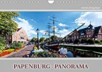 Papenburg-Panorama (Wandkalender 2022 DIN A4 quer): Beeindruckende Panorama-Aufnahmen von Papenburg (Monatskalender, 14 Seiten )