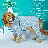 大型犬の衣装ジャンプスーツパジャマ冬の大型犬の服サモイゴールデンレトリバーラブラドールペットの服犬の衣装アパレルコート