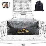 Auto Dachbox, 26 Kubikfuß Faltbare Gepäckbox 728L Dachgepäckträger Wasserdicht Soft Dachtasche Aufbewahrungsbox für Mehr Stauraum(130x100x56cm)