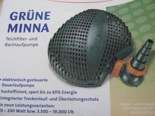 OSAGA Teichpumpe Grüne Minna OGM-19000