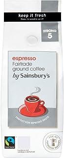 Sainsbury's Fairtrade Italian Espresso Coffee 227g