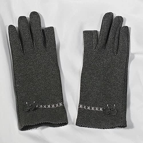 Yoaodpei Primavera y verano Nuevas plantas de algodón de algodón de la piel estilo de la piel de la moda de la moda de la moda de la moda de la moda de dos dedos para el otoño y el calor del invierno,