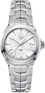 Tag Heuer Link Mother of Pearl Dial Ladies Watch WBC1310.BA0600
