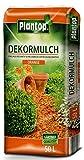 Rindenmulch Dekor 50 Liter Orange Deko Mulch Garten Dekormulch Plantop -