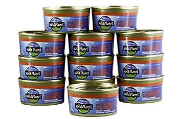 Wild Planet Wild Sockeye Salmon Skinless & Boneless 6 Ounce Pack of 12