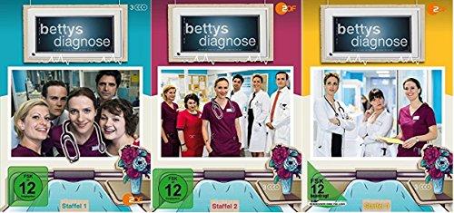 Bettys Diagnose Staffel 1-3 (1+2+3) [DVD Set]