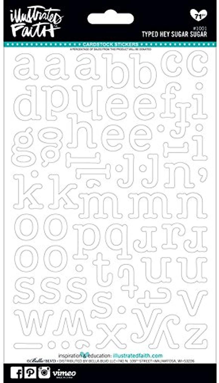 Unbekannt Bella BLVD eingegeben Hey Zucker Genesis Alphabet Aufkleber, 12,7 cm von 22,9 cm weiß B011Q1TM4Q | Mangelware